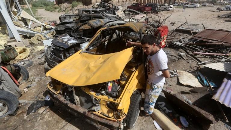 تفجير كبير بمستودع أمني عراقي يخلف 11 جريحا   العالم