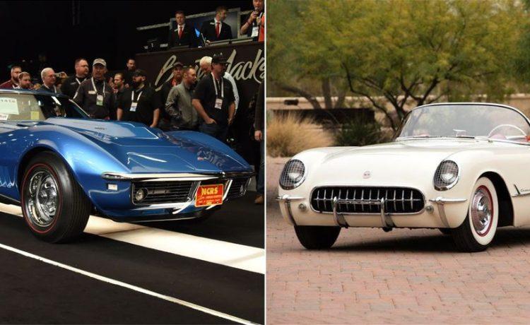 سيارات شيفروليه كورفيت الأغلى مبيعاً بالمزادات في التاريخ   تكنولوجيا وسيارات