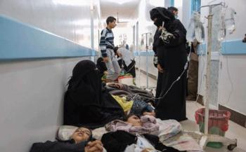 الصليب الأحمر: 1802 حالة وفاة بالكوليرا في اليمن منذ شهرين