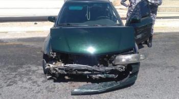 6 إصابات بحادث تصادم في الزارة