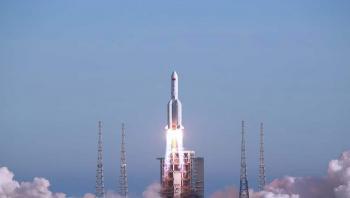 مركبة شحن فضائية تلتحم مع الوحدة الأساسية لمحطة الفضاء الصينية