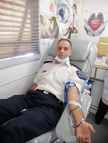 الجمارك تنظم حملة تبرع بالدم