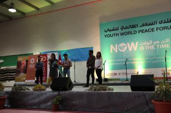 كاريتاس الاردن تطلق منتدى السلام العالمي للشباب