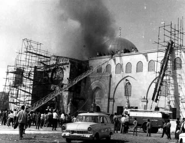 غدا الذكرى الـ 48 لإحراق المسجد الأقصى