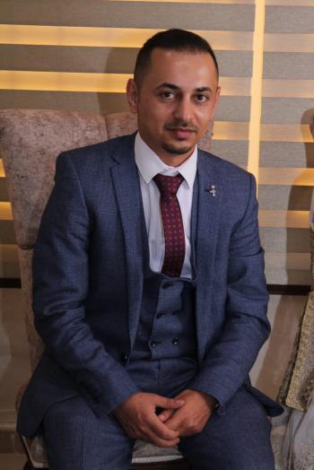 عقد قران المهندسان محمد بكر وبتول عبيدات