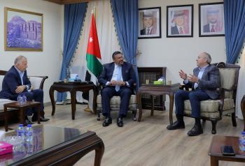 المفلح يؤكد وقوف دولة انتيغوا وبابودا إلى جانب الأردن