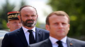 استقالة حكومة رئيس الوزراء الفرنسي إدوار فيليب
