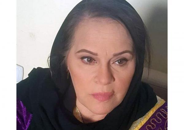 الفنانة المصرية نادية العراقية
