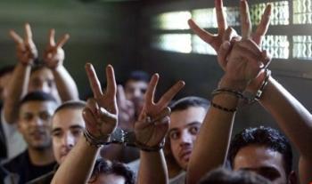 إضراب الاسرى الفلسطينيين بسجون الاحتلال يدخل يومه الـ 13