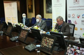 هيئات محلية ودولية تشارك في اليوم العلمي لتصنيف الجامعات في جامعة البترا