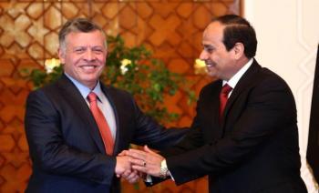 ماذا قالت الصحف المصرية عن لقاء الملك بالسيسي