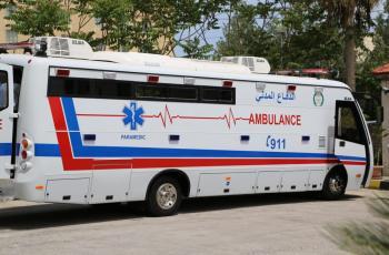 ما هي حافلة الدفاع المدني الضخمة التي شوهدت أمام المستشفى الميداني؟