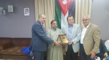 ابو دلو يشكر وزير الداخلية سلامة حماد