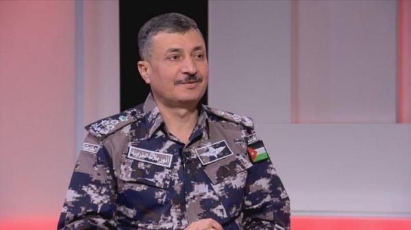 مدير الدفاع المدني العميد أنور الطراونة