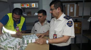 إحباط عملية تهريب مخدرات في جمرك مطار التخليص
