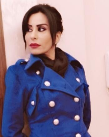 الفنانة رانيا اسماعيل تدعو لاعادة النظر باجراءات حماية المرأة
