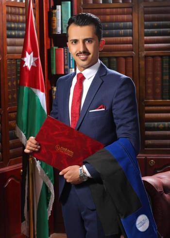 زيد وريكات ..  مبارك التخرج