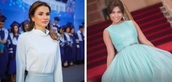 شيرين تعتذر للملكة رانيا على الخطأ