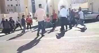 مشاجرة امام مستشفى السلط الجديد (فيديو، صور)