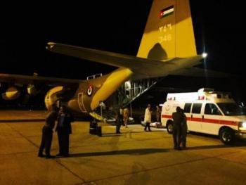 وصول المصابة الأردنية باعتداء اسطنبول إلى عمان