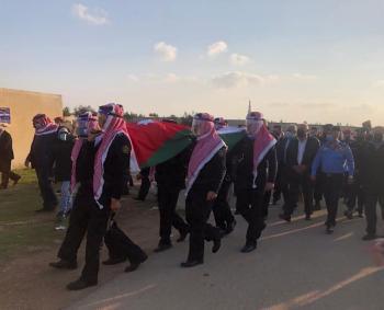 تشييع جثمان مدير الأمن الأسبق الفريق نصوح محي الدين مرزوقة