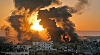 40 غارة على غزة صباح الأربعاء