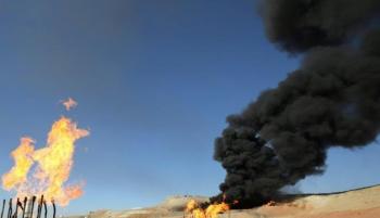 تفجير بئرين نفطيين في حقل باي حسن في العراق