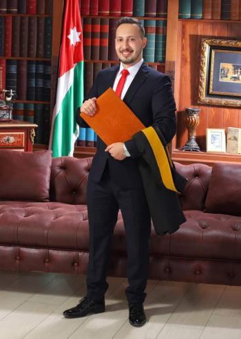 زيد أمجد الحسامي ..  مبارك التخرج