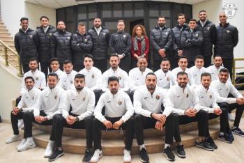 منتخب النشامى يغادر إلى دبي