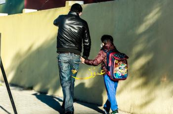 طلبة رياض الأطفال والصف الأول والتوجيهي يعودون إلى مدارسهم