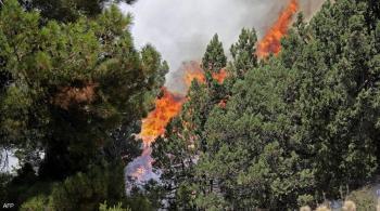 حرائق مستعرة في لبنان