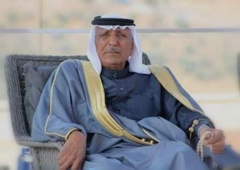 الشيخ عاهد تيلخ يهنئ العين اكريم العوضات
