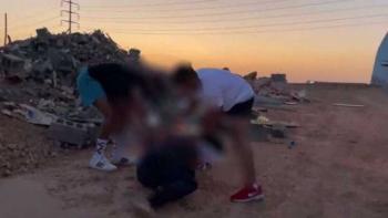 القبض على 4 أشعلوا النار برجل لتصوير مقطع فيديو في السعودية