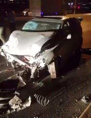 وفاة و3 اصابات بحادث تصادم في اربد