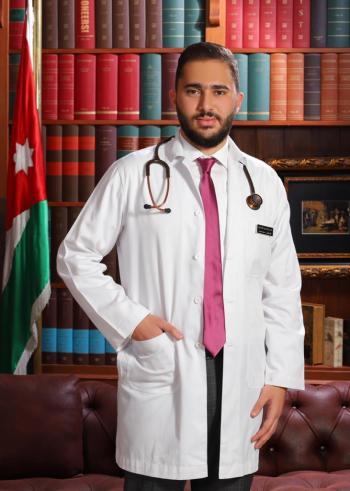 الدكتور حمزة محمود الحمايدة ..  مبارك