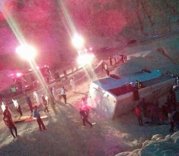 الغاء اعتماد شركة الحج والعمرة التي تعرضت حافلتها لحادث تدهور فجر اليوم