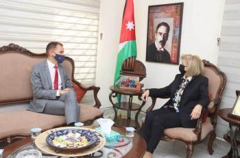 وزيرة الثقافة: لم تقف قلة الموارد الاقتصادية امام تطور الأردن