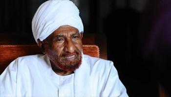 طوقان ينعى رئيس الوزراء السوداني الأسبق الصادق المهدي
