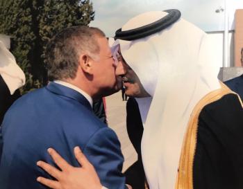 السفير السعودي يهنئ الأردن بعيد الاستقلال