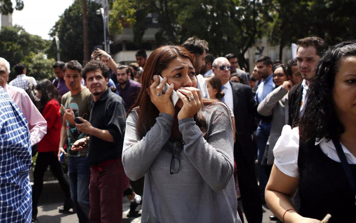 زلزال يضرب المكسيك .. وعبيدات: سنطمئن على الاردنيين