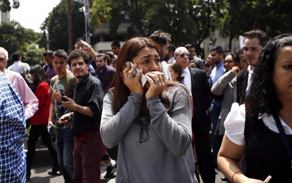 زلزال يضرب المكسيك .. وعبيدات: نتواصل للاطمئنان على الاردنيين (صور)