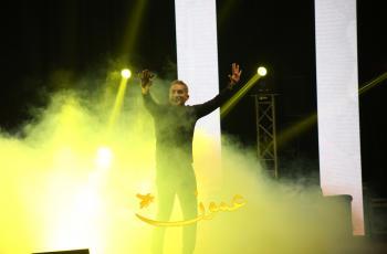باسم يوسف يقدم عرضًا  ساخرًا في عمّان (صور)