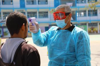 غزة: 1268 اصابة جديدة بكورونا