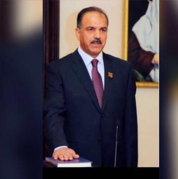 اول سفير عربي ببراءة اختراع يصل المملكة