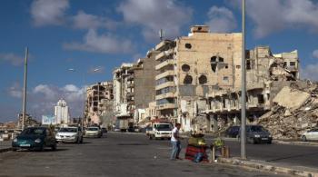 أكثر من 100 قتيل وجريح بانفجار ألغام جنوبي طرابلس الليبية