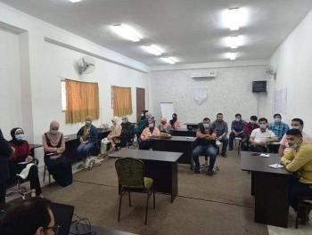ورشة انتخابية في معان بعنوان صوتك بكرا بفرق