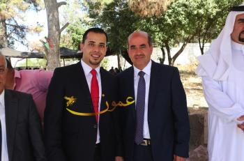المهندس محمد الرحاحله يولم لزفاف نجله