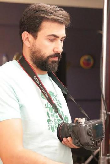 الفنان القيش يصور مشاهده بدور بطولة هواجس عابرة