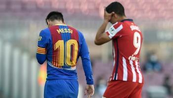 قمة برشلونة وأتلتيكو مدريد تنتهي بالتعادل