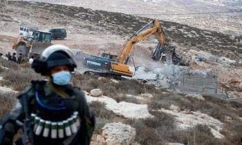 الاحتلال يهدم 506 مبانٍ فلسطينية منذ بداية العام الجاري
